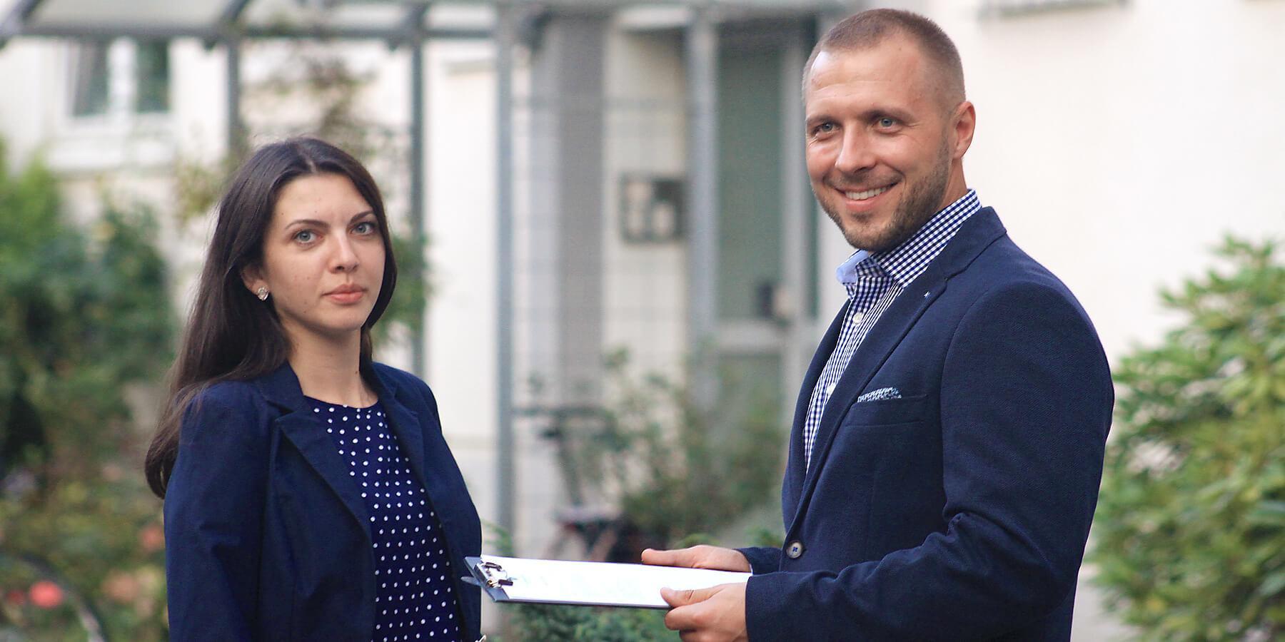 Preisverhandlungen beim Immobilenkauf